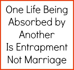 Marriage is not entrapment